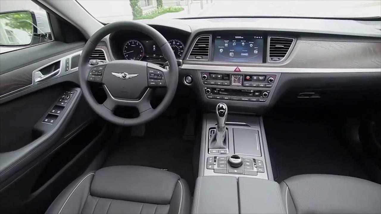 2017 Hyundai Genesis G80 Interior Design Automototv