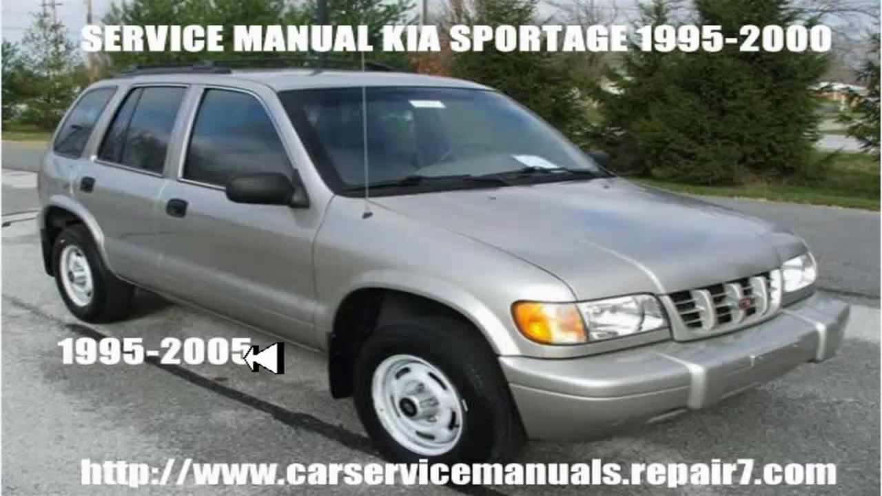 kia sportage workshop service repair manual 1995 1996 1997 1998 1999 rh youtube com user manual kia sportage 2016 owner's manual kia sportage