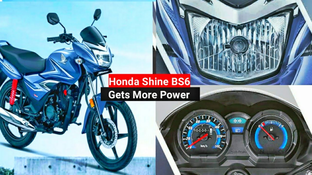 2020 Honda Cb Shine Bs6 Official Launch Specs Bs6 Shine 125 Price