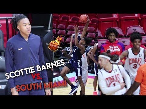 Scottie Barns & Vernon Carey Take on  South Miami