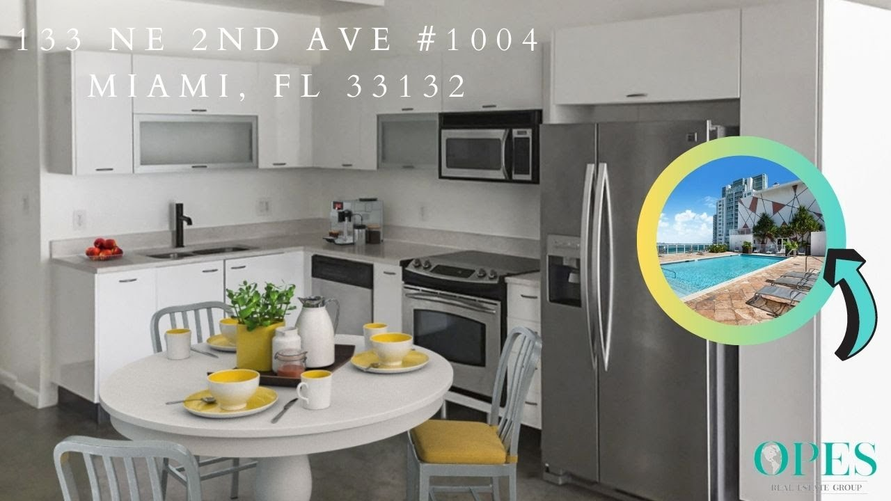 Downtown Unit For Rent - 133 NE 2nd Ave #1004