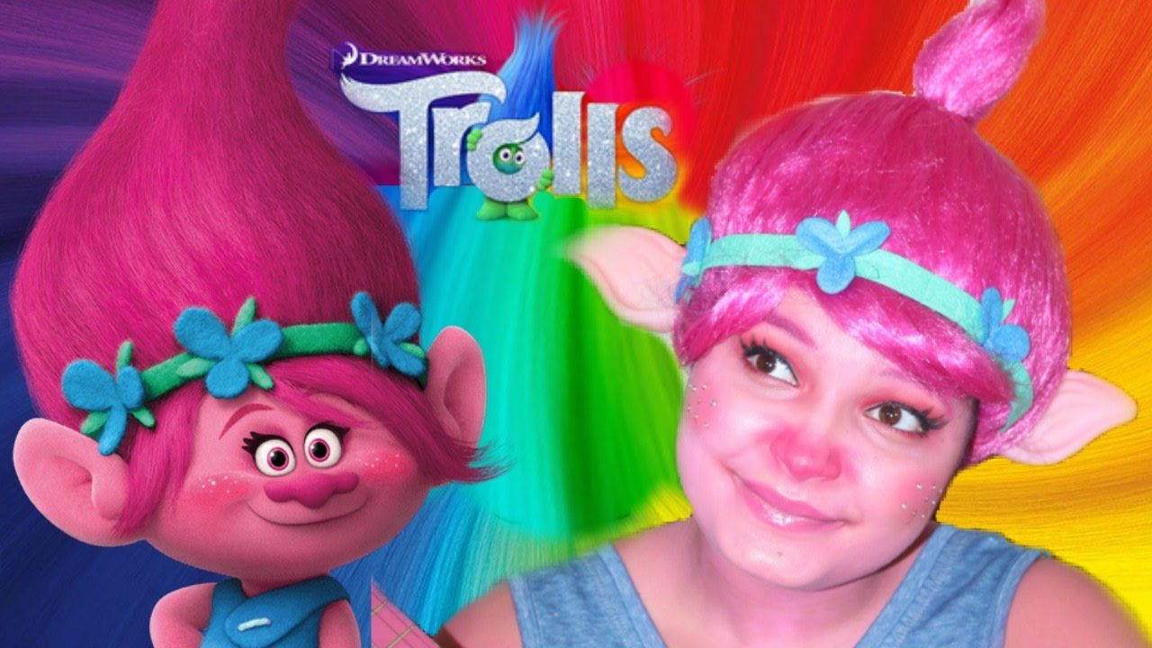 poppy trolls movie makeup tutorial kindly kiana youtube