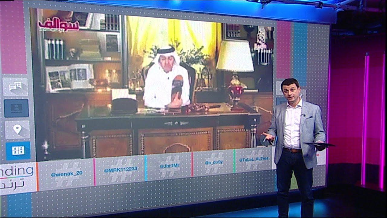 """إعلامي إماراتي يقبل نعال """"لولي عهد أبوظبي"""""""