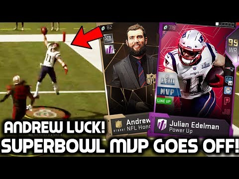 SUPER BOWL MVP JULIAN EDELMAN MAKES CRAZY CATCHES! Best Card In the Game! Madden 19 Ultimate Team