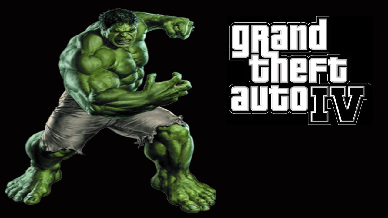GTA Hulk Mod - Grand Theft Auto IV Hulk Mod - GTA IV 1080p