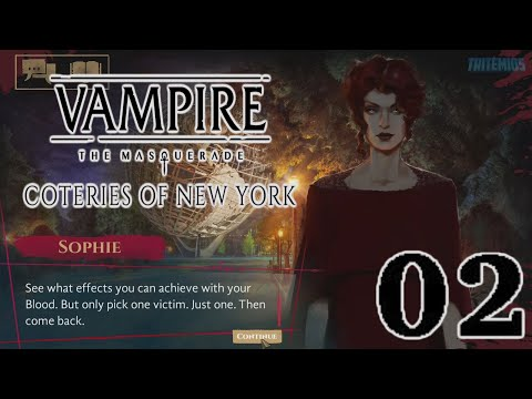 Vampire: The Maquerade - Coteries of New York - Part 02 - First Hunt - (No Commentary) |
