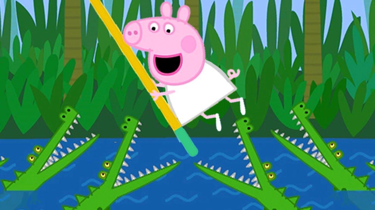 Peppa Pig Português Brasil | O ACAMPAMENTO DE FÉRIAS 1 + 2 | HD | Desenhos Animados