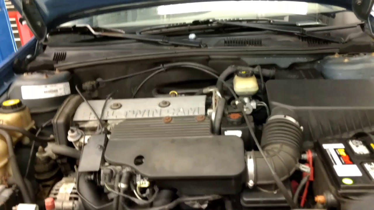 Malibu 1998 chevy malibu : 1998 Chevy Malibu underhood engine start, power brake - YouTube