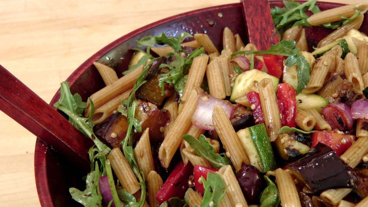 Grilled veggie pasta salad recipe by laura vitale laura in the grilled veggie pasta salad recipe by laura vitale laura in the kitchen episode 130 youtube forumfinder Image collections