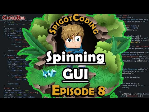 How To Make A Spigot 1.15 Plugin (Ep8) Spinning GUI