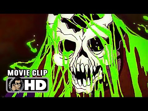 THE BLACK CAULDRON Movie Clip - Army of the Dead (1985) Disney Animated Classic Movie HD