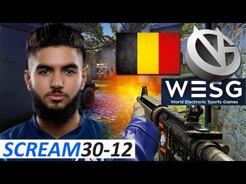 ScreaM 30-12 / Belgium vs  ViCi / WESG 2017 World Finals