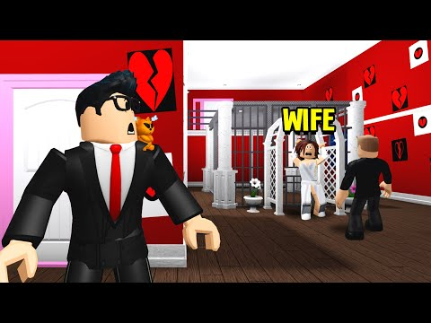 Hotel Was For MARRIED COUPLES.. But The Owner Trapped My WIFE! (Roblox Bloxburg)