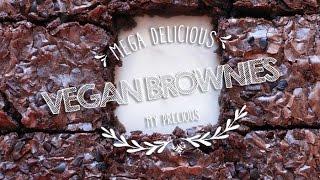 How To Make Vegan Brownies ♥