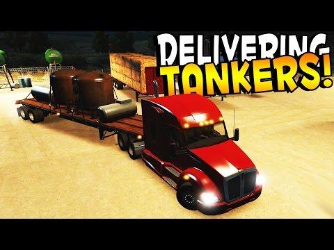 FUN TUCSON TANKERS! - American Truck Simulator Gameplay (Kid Friendly Gaming!)