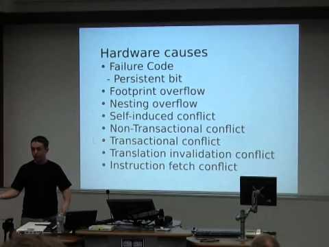 What's the deal with Hardware Transactional Memory!?! [linux.conf.au 2014]