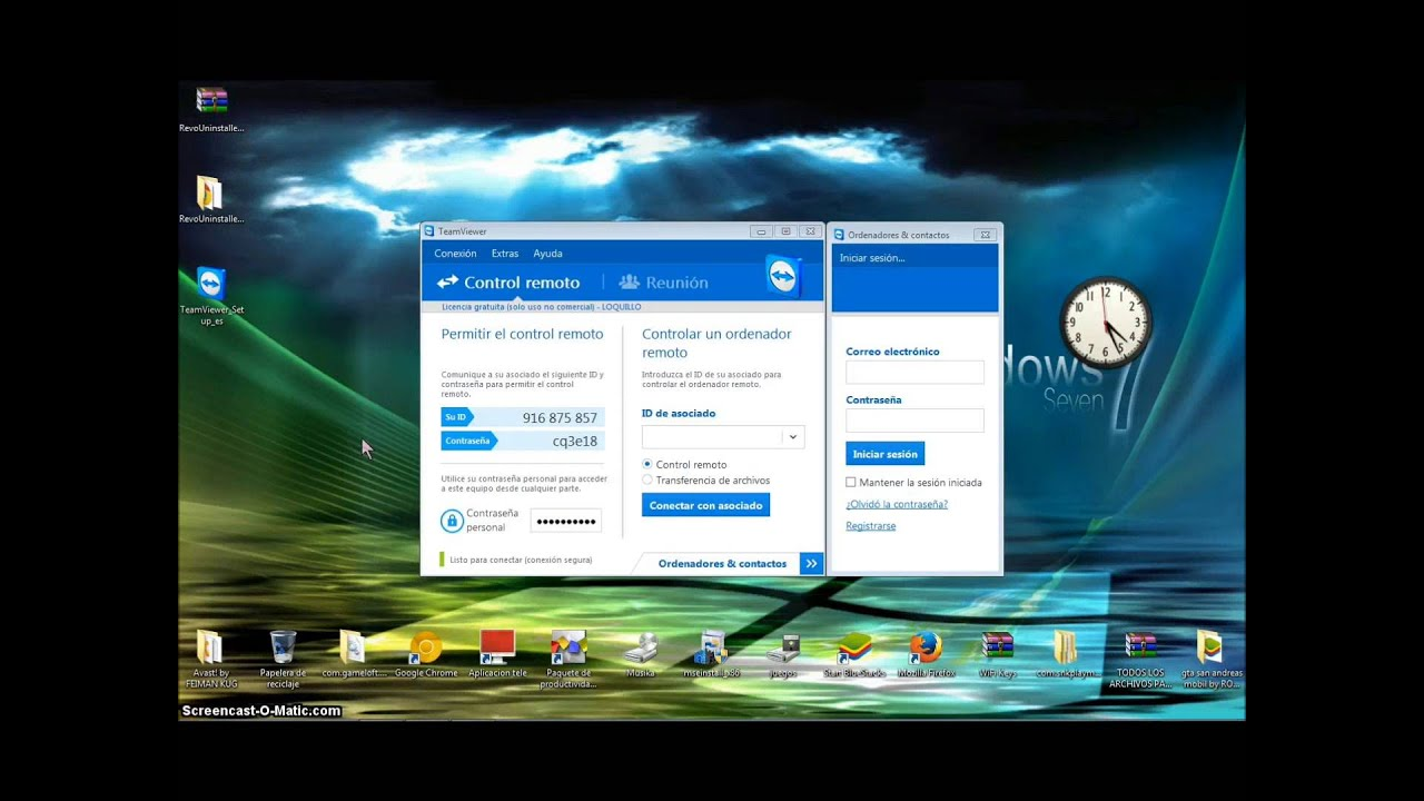 No captura la pantalla con Teamviewer