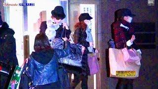 花組、月組、花組、雪組 2018.12.22Filming DEMACHI image of Takarazie...