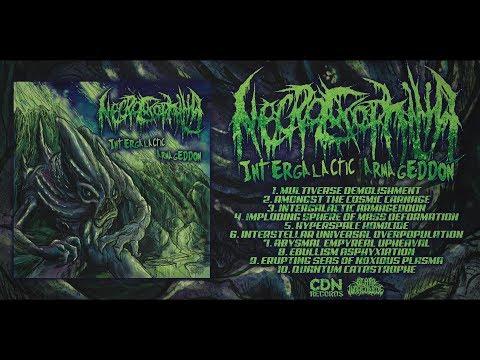 NECROEXOPHILIA - INTERGALACTIC ARMAGEDDON [OFFICIAL ALBUM STREAM] (2018) SW EXCLUSIVE