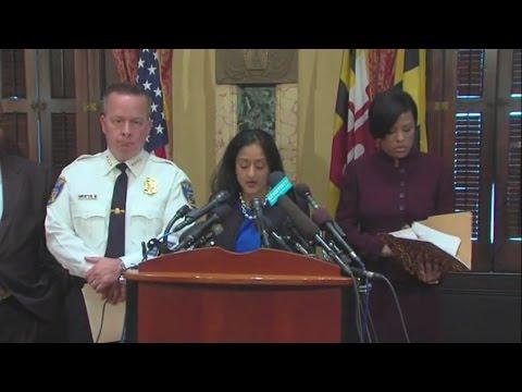 DOJ report on Baltimore Police released