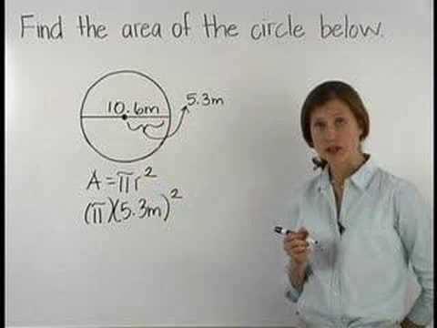 Area of a circle mathhelp math help youtube area of a circle mathhelp math help ccuart Images