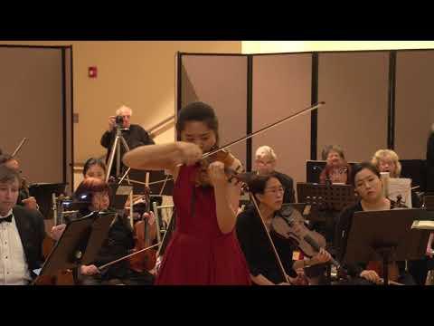 Sibelius Concerto with Bergen Philharmonic Orchestra - Chelsea Xia, violin