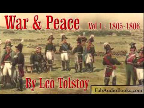 WAR AND PEACE Volume 1 Part 1 - by Leo Tolstoy - Unabridged Audiobook - FAB