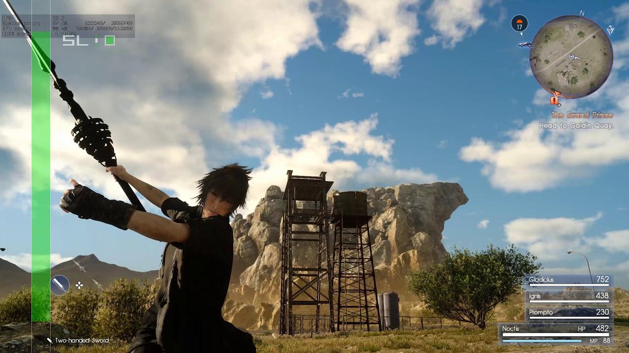 Final Fantasy XV Windows Edition DEMO SLI FIX