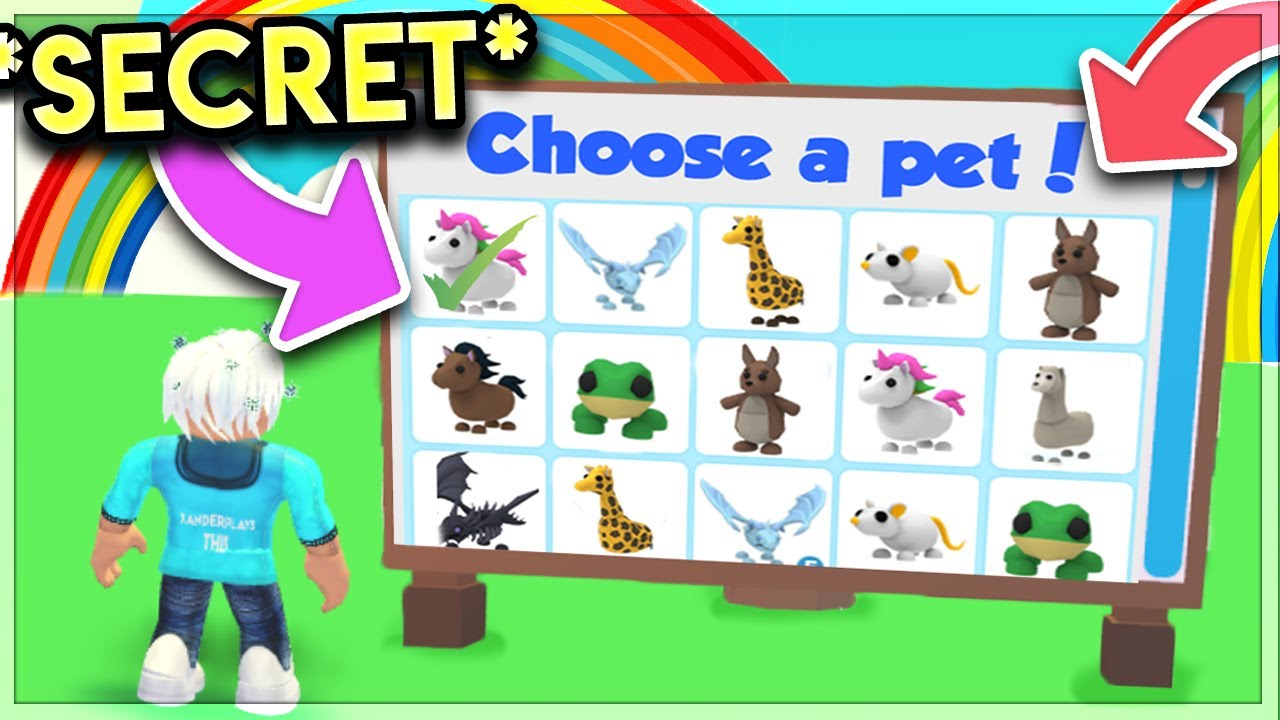 This Secret Location Gives Free Legendary Pets Adopt Me Secrets Roblox Youtube