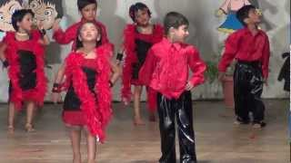 Children Dance performance on one two cha cha