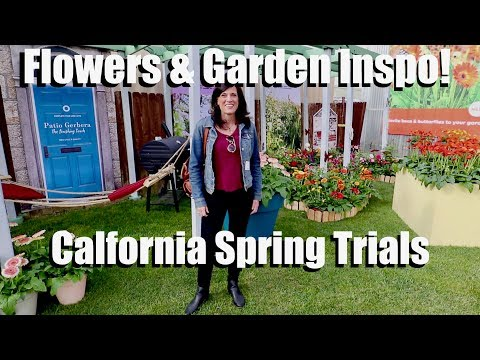 Beautiful Flowers & Garden Inspiration at the California Spring Trials! 🌺🌼