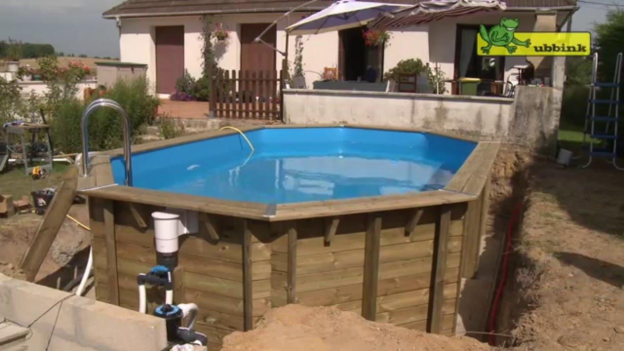 Comment Monter Une Piscine Hors Sol montage d'une piscine ubbink octogonale allongée