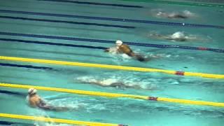 鈴木 聡美 女子100m平泳ぎ予選 FINA ワールドカップ2015東京大会