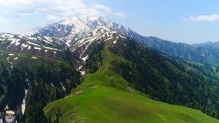 Makra Peak- Siri Paye Shogran Kaghan Valley Pakistan -Aerial Galance /Aerial View