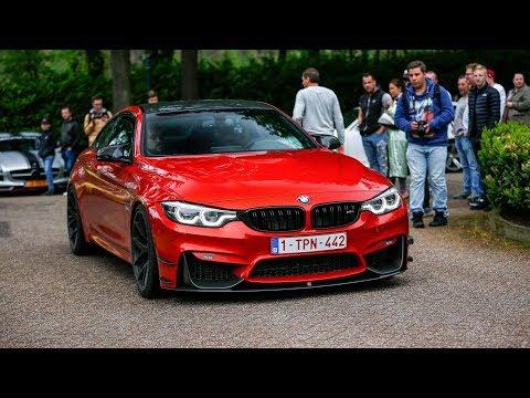 600HP Pure Turbos BMW M4 F82 W/ Decat M Performance Exhaust - Crazy Burnouts, Launch Controls & Revs