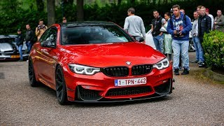 600HP Pure Turbos BMW M4 F82 w/ Decat M Performance Exhaust - Crazy Burnouts, Launch Controls & Revs