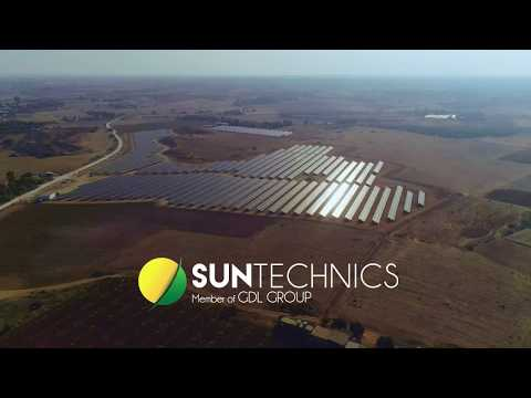 The Largest Solar Park in Cyprus (4.4MW)