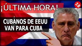 ÚLTIMA HORA: Cubanos de EEUU van para CUBA!!!