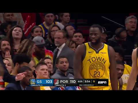 Golden State Warriors vs Portland Trail Blazers : February 13, 2019