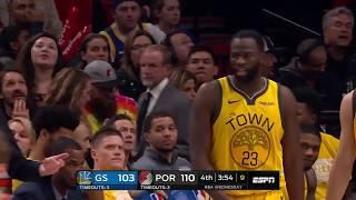 Golden State Warriors vs Portland Trail Blazers : February 13, 2019