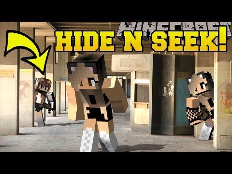 Minecraft: ARIANA GRANDE HIDE AND SEEK!! - Morph Hide And Seek - Modded Mini-Game - Видео из Майнкрафт (Minecraft)