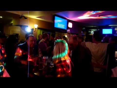 james - sit down - karaoke in the Albert pub - Scarborough