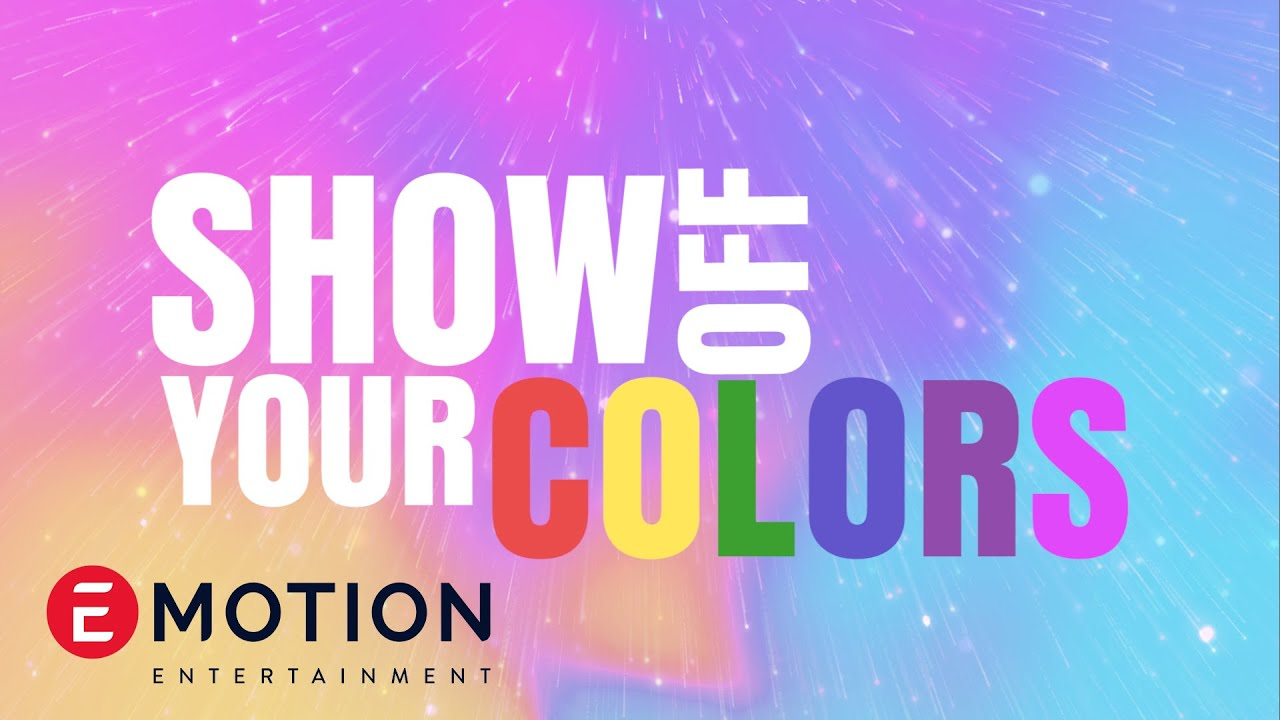 Titi DJ Feat. Sara Fajira & Eka Gustiwana -  Show Off Your Colors (Official Lyric Video)