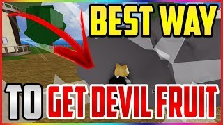 🍇 BEST WAY TO GET DEVIL FRUITS / DEMON FRUITS IN BLOX PIECE - ROBLOX