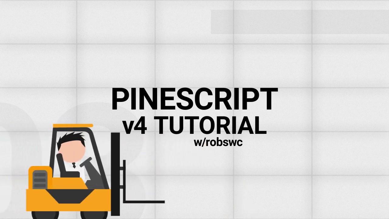 Pinescript v4 | New Features! | Tutorial