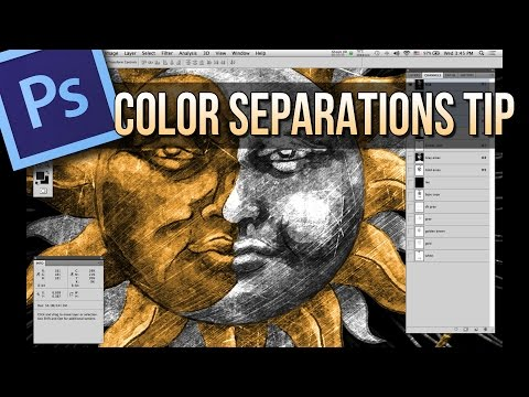 Photoshop Color Separations Tips - Utility Channels