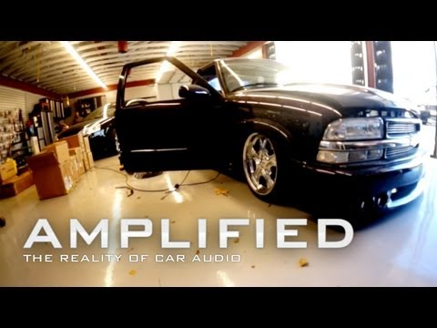 Amplified - Chevy S10 Full Bed Blow Thru, Custom Audio System - @SoundmanCA - EP 87
