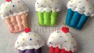 Handmade Felt Christmas Decorations  Design New