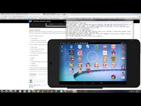 New Updated Video On How To Remove FBI Simploader Koler Virus From Android Device