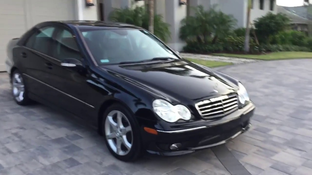 2007 Mercedes Benz C230 AMG Sport Review And Test Drive By